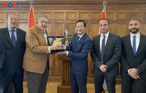 Việt Nam và Ai Cập: tăng cường hợp tác cảng biển và thương mại - ảnh 2