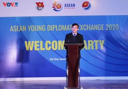 Giao lưu các nhà ngoại giao trẻ ASEAN 2020 - ảnh 1
