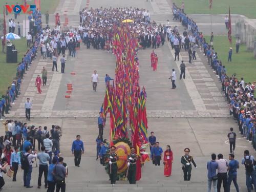 Lễ dâng hương tưởng niệm các Vua Hùng tại các địa phương trong cả nước - ảnh 1