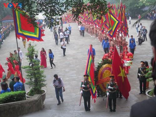 Lễ dâng hương tưởng niệm các Vua Hùng tại các địa phương trong cả nước - ảnh 2