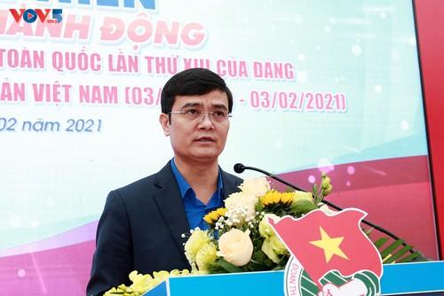 Gần 1.500 công trình tuổi trẻ chào mừng thành công Đại hội Đảng Cộng sản Việt Nam lần thứ XIII - ảnh 1