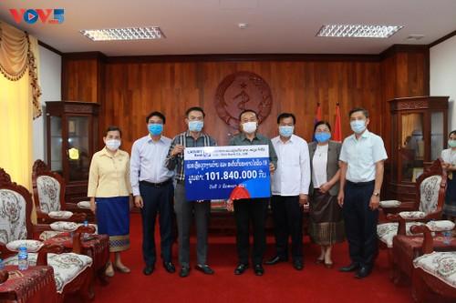 Cộng đồng người Việt tại Lào cùng chính quyền sở tại phòng chống COVID-19  - ảnh 2