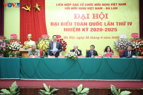 Đại hội Đại biểu toàn quốc Hội Hữu nghị Việt Nam - Ba Lan lần thứ IV nhiệm kỳ 2020-2025 - ảnh 1