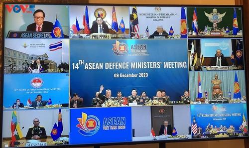 Hợp tác quốc phòng ASEAN vẫn duy trì trong bối cảnh đại dịch Covid-19 - ảnh 1