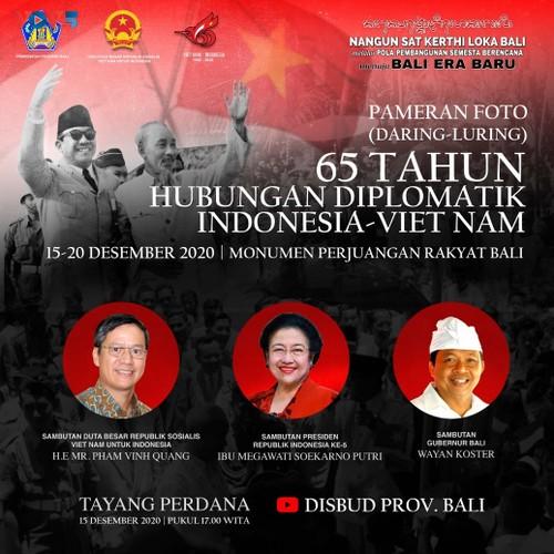Tình hữu nghị giữa Việt Nam và Indonesia qua triển lãm ảnh tại Bali - ảnh 1