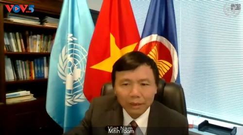 Vietnam exhorta la promoción de diálogos para hallar una solución integral al conflicto de Haití   - ảnh 1