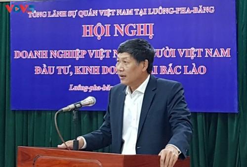 """Hội nghị """"Gặp gỡ doanh nghiệp Việt Nam, người Việt Nam đầu tư, kinh doanh tại Bắc Lào"""" - ảnh 1"""