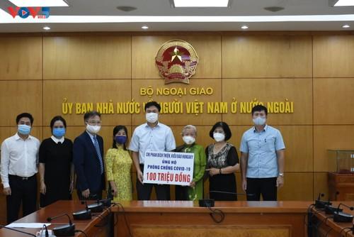 Người Việt tại Hungary ủng hộ công cuộc phòng chống dịch Covid 19 - ảnh 1