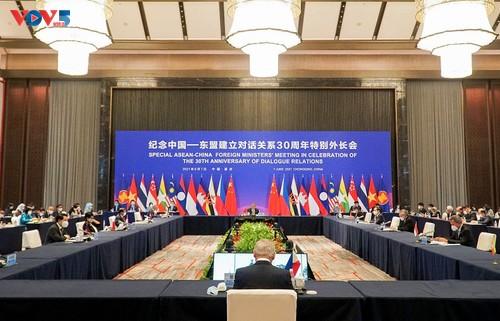 Hội nghị đặc biệt Bộ trưởng Ngoại giao ASEAN-Trung Quốc - ảnh 1
