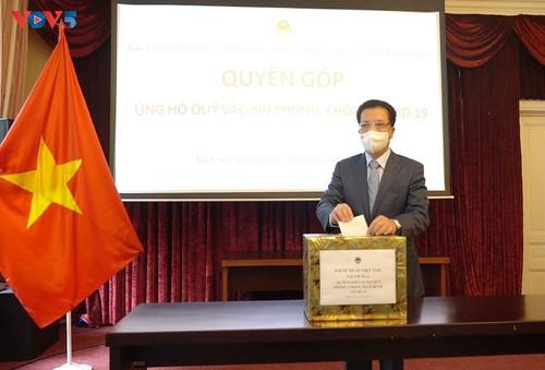 Người Việt Nam tại LB Nga chung tay ủng hộ Quỹ vaccine phòng, chống dịch Covid-19 - ảnh 1