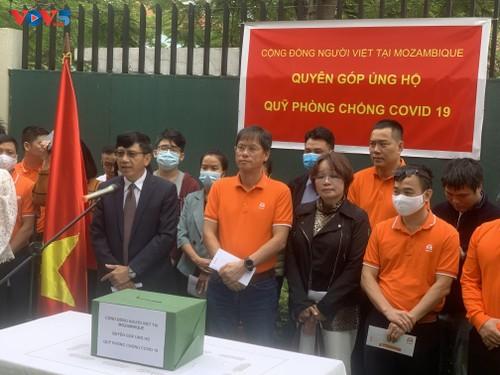 Cộng đồng người Việt Nam tại Mozambique quyên góp ủng hộ Quỹ phòng chống COVID-19  - ảnh 2