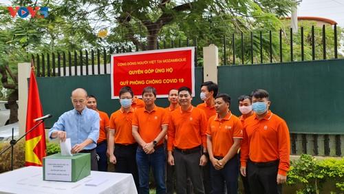 Cộng đồng người Việt Nam tại Mozambique quyên góp ủng hộ Quỹ phòng chống COVID-19  - ảnh 5