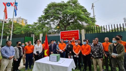 Cộng đồng người Việt Nam tại Mozambique quyên góp ủng hộ Quỹ phòng chống COVID-19  - ảnh 1