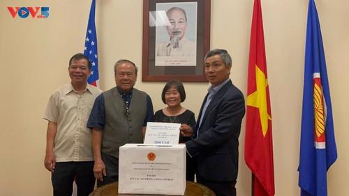 Tổng Lãnh sự quán Việt Nam tại Texas phát động ủng hộ Quỹ vắc xin phòng chống Covid 19  - ảnh 1