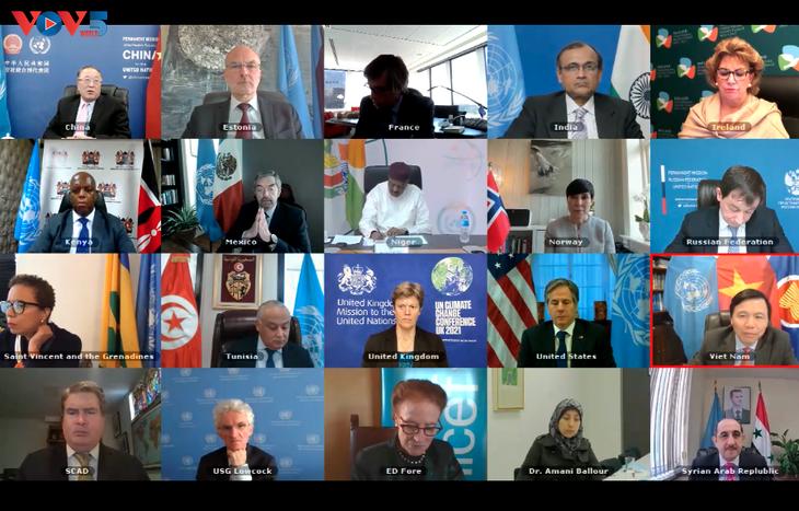 联合国安理会对叙利亚人道主义危机表示关切 - ảnh 1