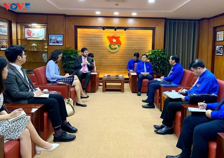 Verstärkung der Zusammenarbeit zwischen dem Jugendverband und UNESCO in Vietnam - ảnh 1