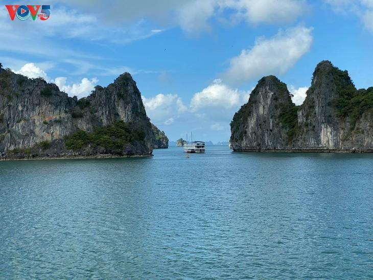 Teluk Ha Long lolos masuk ke Besar 50 Keajaiban  yang paling indah  di dunia - ảnh 2