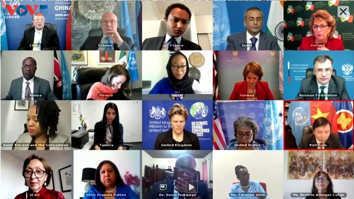 베트남, 유엔 안전보장이사회에 분쟁 내 성폭력 문제 해결을 촉구 - ảnh 1