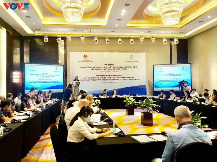 Vietnam discuss with partners how to implement UPR recommendations - ảnh 1
