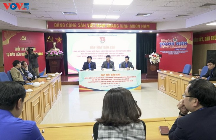 """""""Young people act together"""" Day to be observed in Vietnam and abroad  - ảnh 1"""