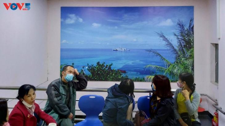 Có một Trường Sa trong Bệnh viện Đại học Y Hà Nội - ảnh 4