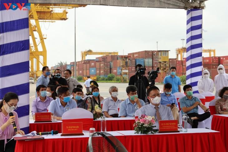 """Viện Hàn lâm Khoa học và Công nghệ Việt Nam tổ chức lễ trực tuyến đón tàu nghiên cứu """"Viện sỹ Oparin"""" - ảnh 1"""