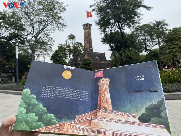 Khám phá danh thắng của Hà Nội với sách tranh 3D - ảnh 7