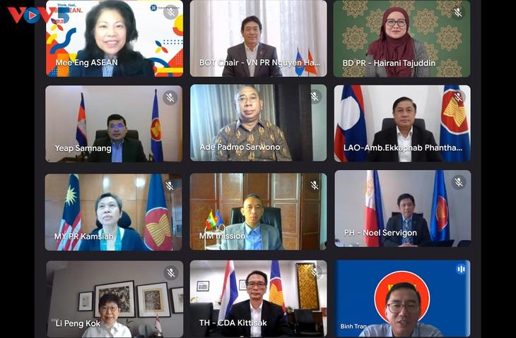 越南主持召开东盟基金会托管委员会第46次会议 - ảnh 1