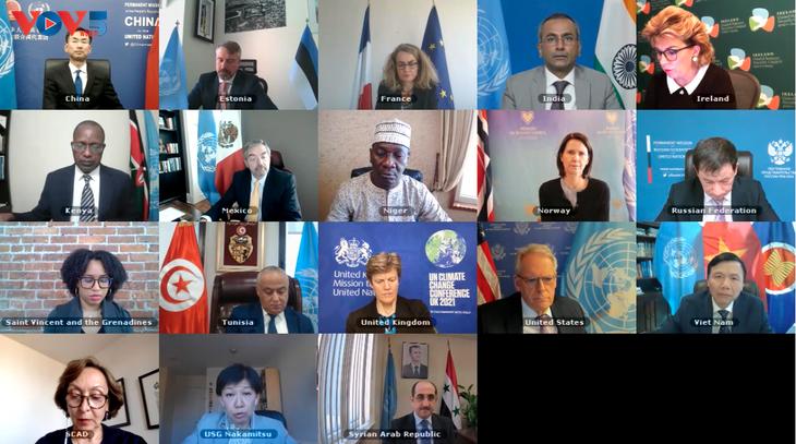Vietnam leitet die Sitzung des UN-Sicherheitsrats über Chemiewaffen in Syrien - ảnh 1