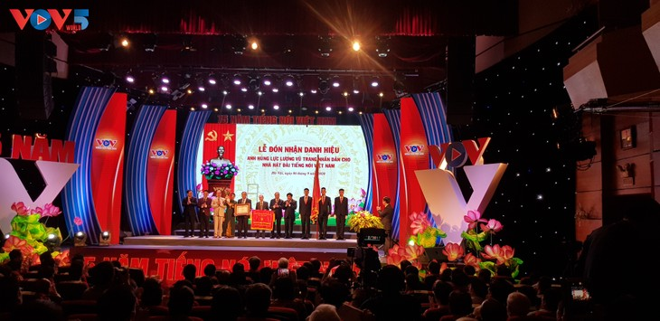 The Voice of Vietnam awarded Labor Order on its 75th anniversary  - ảnh 2