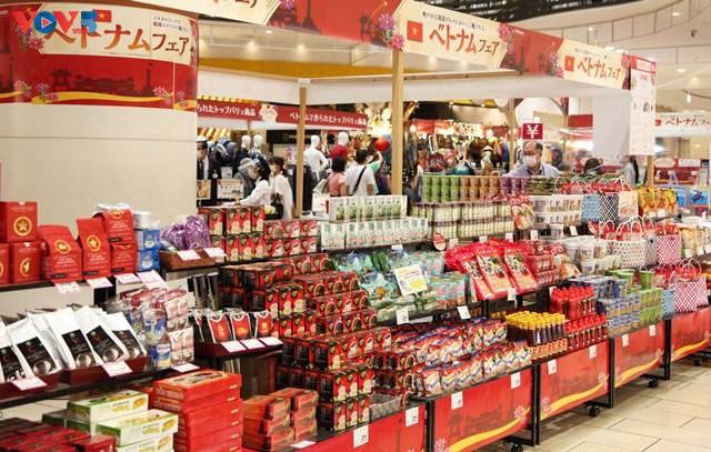 Triển lãm hàng Việt Nam tại hệ thống siêu thị AEON Nhật Bản - ảnh 1