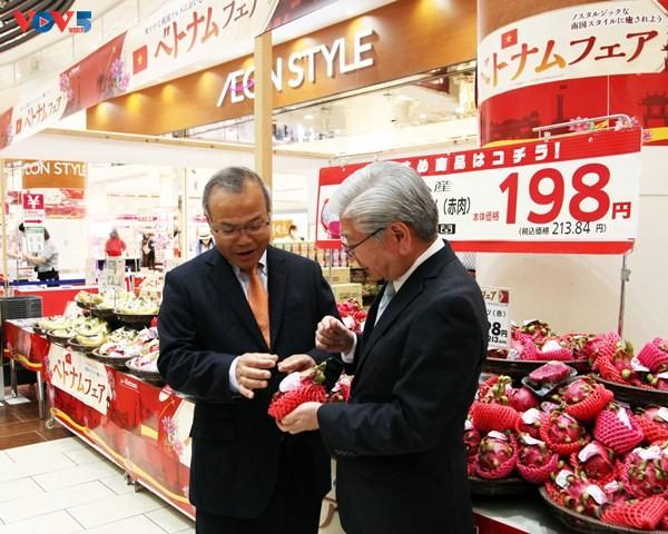 Triển lãm hàng Việt Nam tại hệ thống siêu thị AEON Nhật Bản - ảnh 2