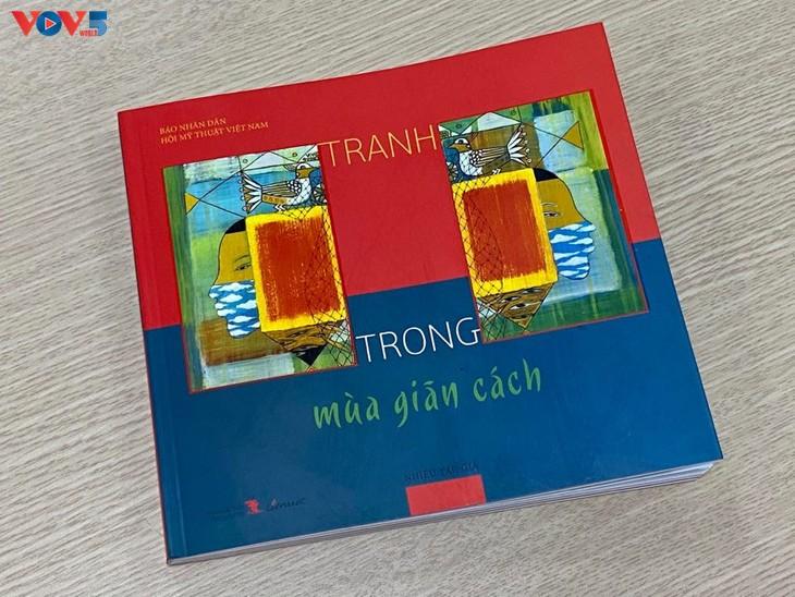 Triển lãm tranh của họa sĩ đương đại Việt vẽ trong mùa cách ly - ảnh 4