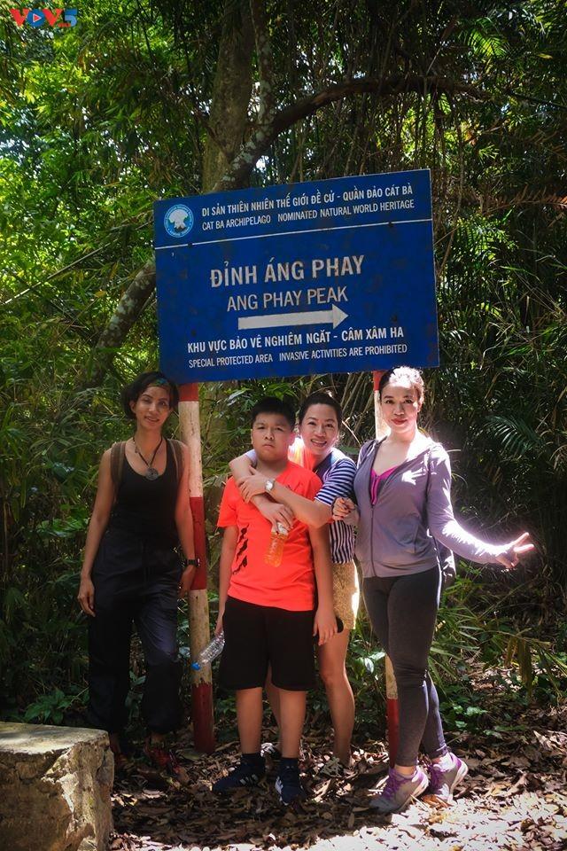 Trải nghiệm leo núi xuyên rừng Cát Bà - ảnh 11