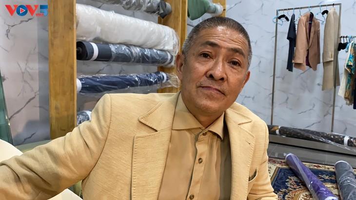Vietnam Silk House nghiên cứu thành công mẫu vải lụa mới - ảnh 2