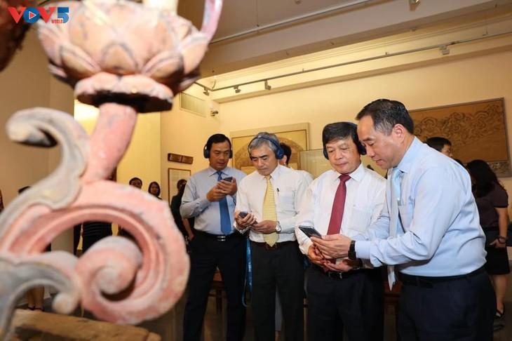 Bảo tàng Mỹ thuật Việt Nam ra mắt ứng dụng thuyết minh đa phương tiện iMseum VFA - ảnh 5