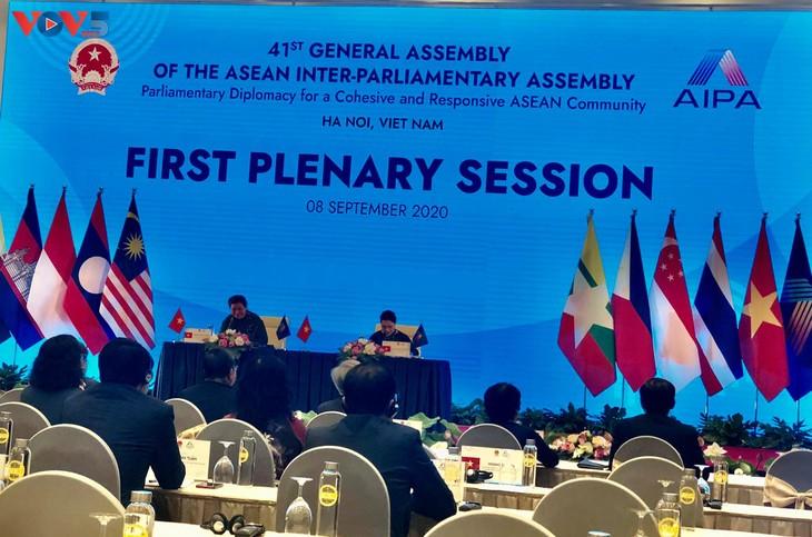 La Asamblea Interparlamentaria del grupo del Sudeste Asiático aprueba proyectos futuros - ảnh 1