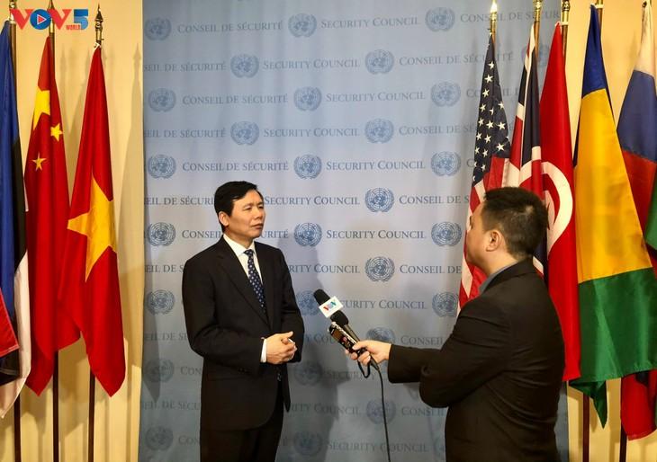 Le Vietnam assume la présidence du Conseil de sécurité de l'ONU en avril - ảnh 1