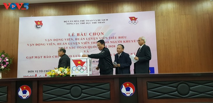 Vietnam names 2020's best athlete and coach - ảnh 1