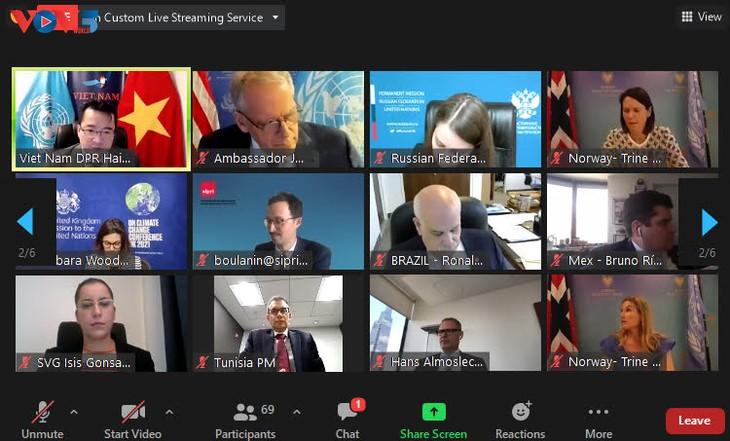 Совет безопасности ООН провел дискуссию по влиянию новых технологий - ảnh 1
