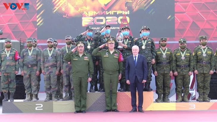Đoàn Việt Nam đạt thành tích xuất sắc tại Army Games 2020 - ảnh 1