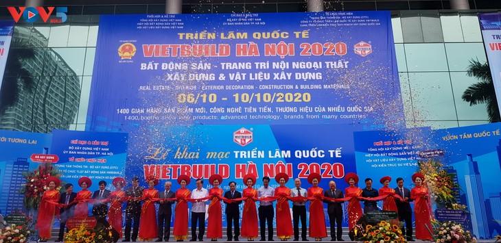 Khai mạc Triển lãm Quốc tế VIETBUILD Hà Nội 2020 - ảnh 1