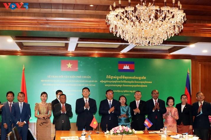 Nâng quan hệ Việt Nam - Campuchia lên tầm cao mới - ảnh 1
