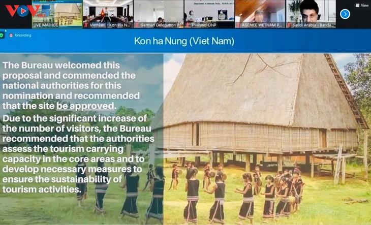អង្គការយូណេស្កូទទួលស្គាល់មណ្ឌលទុកបម្រុងជីវៈចម្រុះពិភពលោក ភ្នំ Chua ខ្ពង់រាប Kon Ha Nung របស់វៀតណាម - ảnh 2