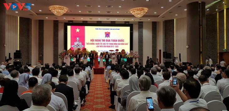Biểu dương 245 linh mục, tu sĩ, giáo dân có thành tích trong phong trào thi đua yêu nước - ảnh 1