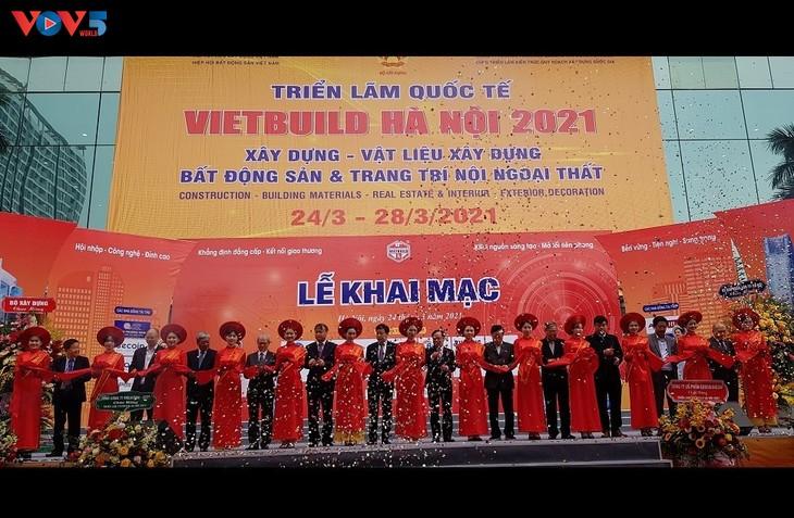 Triển lãm quốc tế Vietbuild Hà Nội 2021 - ảnh 2