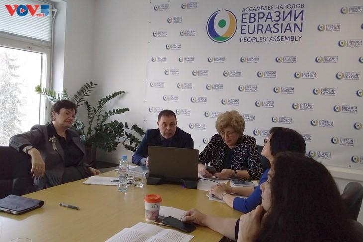 """Hội thảo """"Quan hệ Ðối tác Á - Âu mở rộng"""" tại Liên bang Nga  - ảnh 1"""