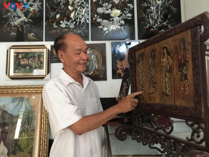 Conservar y desarrollar productos de laca de la aldea de Tuong Binh Hiep - ảnh 1