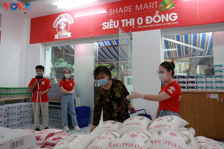 2nd Zero Dong Mart-Share Mart opens in Hanoi - ảnh 1