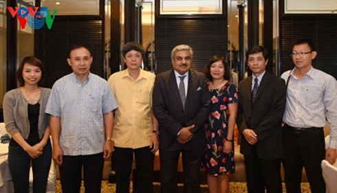 VOV promotes broadcasting cooperation with Myanmar and India - ảnh 3